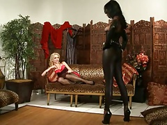 Small Bondage Party For Slave