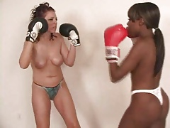 Black vs White Boxing Beating
