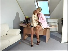 Babes In The Office Has Some Free Time For Fun