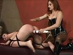 Domme  and fuckin' her  nymph