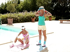 Sporty Sirens by Sapphic Erotica - lesbian love porn with