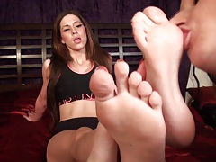Italian Princess Foot Worship
