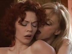 Justine Joli With Nina Hartley