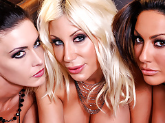Jessica, Puma and Tiffany have wet pussy's