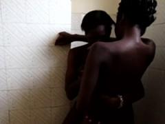 African lesbos enjoy licking