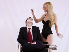 Hot Kayden gets pounded by Lilys dildo