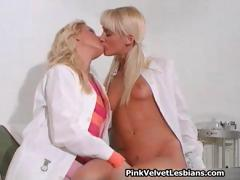 2 brilliant light-haired sweeties  having part2