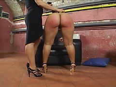 Her Ginormous  Succulent Butt Gets Spanked!!!!!!!