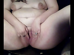 Thick Obese Teenagers  with their Funbags and Gash on Cam-3